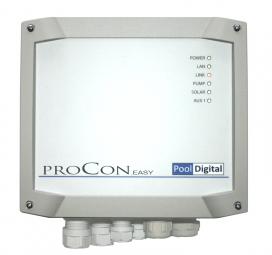 ProCon.EASY - Filterpumpensteuerung, Solarsteuerung / Absorbersteuerung, Heizungssteuerung